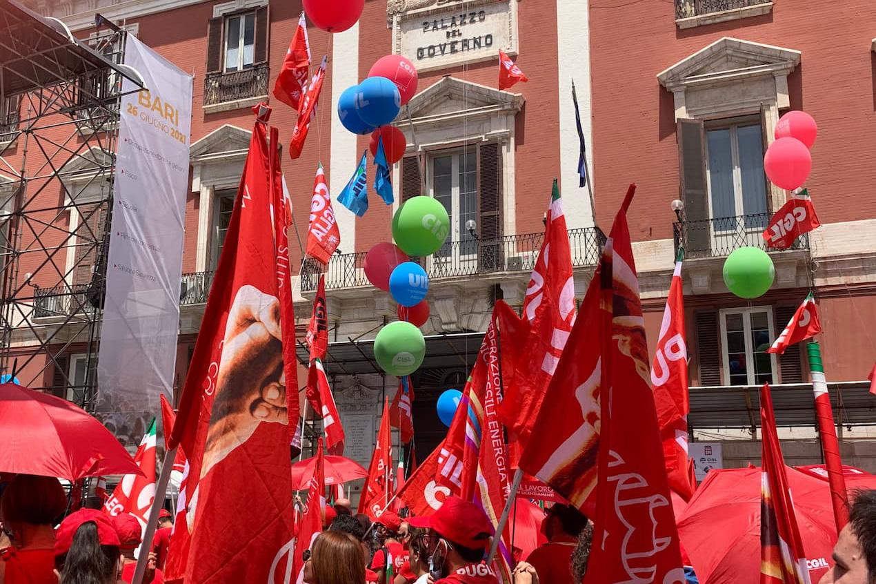 Manifestazione Unitaria del 26.06.2021